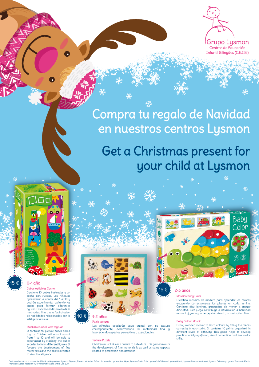 Reserva Tus Juguetes Navidenos En Lysmon Grupo Lysmon